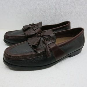 Johnston & Murphy Two Tone Leather Loafers 11.5 M